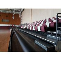Permanent Fixed Stadium Seating Indoor Riser Mounted For Sports Hall