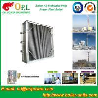 Water Proof Plate Air Preheater / Combustion Air Preheater Hot Water