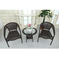 China Outdoor Leisure Time Rattan Table Chairs wholesale