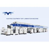 Wholesale Industrial Multi-Layer Dry Laminating Machine Solventless CPE / AL from china suppliers