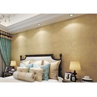 China Gold Multifilament Non - Woven Modern Removable Wallpaper / Breathable Wallpaper wholesale