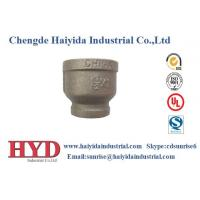 Wholesale socket reducing black malleable iron pipe fitting cast iron UL factory from china suppliers