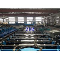 15Kw Corrugated Side Panel Roll Forming Machinery Electric Motor Cutting 10×1.2×1.5