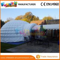 Wholesale PVC tarpaulin Dome Inflatable Igloo Tent For Camping with Hand printing from china suppliers