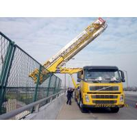 China 8x4 22m Latice under bridge inspection equipment VOLVO With Air suspension system wholesale