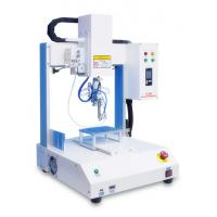 China Four Axis Automatic Soldering Machine Φ0.3-1.6 mm Tin Thread For Circuit Boards wholesale
