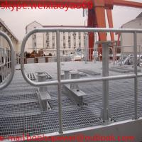 Wholesale galvanised steel grating / 25mm 30mm 32mm 40mm steel bar grating/32 x 5mm galvanized  metal grate from china suppliers
