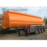 Chemical Liquid 38000L Pneumatic Tanker Trailers 3 Axle Trailer