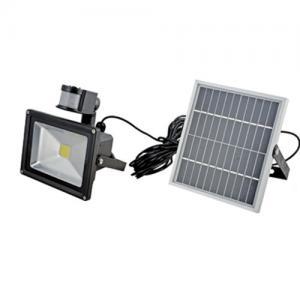 IEC / CE Monocrystal Solar LED Flood Lights with PIR sensor