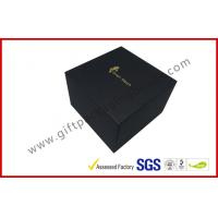 Wholesale LID AND BASE gift box for smart watch small device , matt black cube boxes from china suppliers