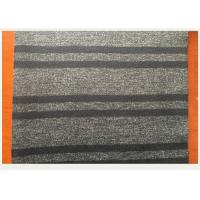 Wholesale Dark Gray Located Jacquard Wool Fabric Men Coat 750 Gram Per Meter from china suppliers