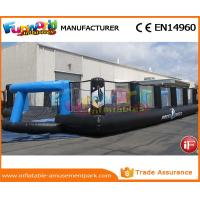 China Good Inflatable Sports Games Soccer Court Inflatable Football Field For Kindergarten wholesale
