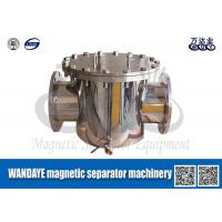 Wholesale Pipeline Iron Remover Magnetic Separator Machine For Food Processing from china suppliers