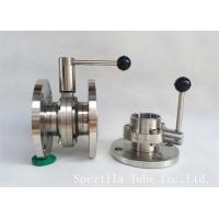 "Wholesale 1"" TP316L Sanitary Stainless Steel Valves And Butterfly Vavles ASTM A270 from china suppliers"