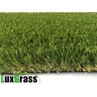 China V shape 35 mm Landscaping Artificial Carpet Grass For Gardens wholesale