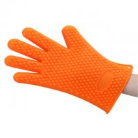 Wholesale Non Toxic Silicone Baking Set Size Customized Heart Shaped Silicone BBQ Gloves from china suppliers