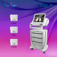 Best 3 transducers Evo hifu high intensity focused ultrasound hifu beauty machine