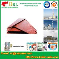 Power Plant Oil Fired Boiler Water Walls Once Through High Heating Efficiency