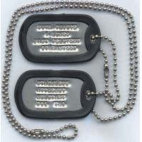 Wholesale Dragon Design Dog Tags with Colorful Rubber Silencer from china suppliers