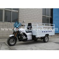RS250ZH-F1 High Box Cargo Motor Tricycle , Cargo Gas Motorcycle ISO9000 Certification