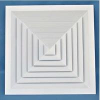 ZS-FS Aluminum Square ceiling air diffuser for ventilation