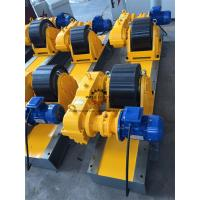 Wholesale Heat Exchanger Production 20T Tank Turning Rolls Heavy Duty Gearbox Double Driving from china suppliers