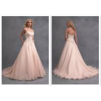 Wholesale Lace Elegant Dress Ball Gown Long Train Bridesmaid Dresses Wedding Dress from china suppliers