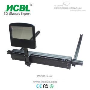Single Polarization Passive 3D Cinema System With Liquid Crystal Polarizer