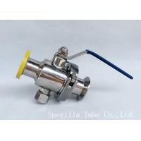Wholesale Dn25 Tp316l Threaded Ball Valve Bpe Valves Sanitary Valves And Fittings Polsihed from china suppliers