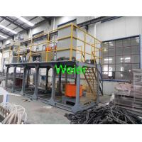 Single Screw PE Plastic Pipe Extrusion Line / PE Pipe Extruder Machine
