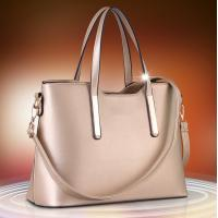 China Golden Large Ladies Shoulder Bags PU Leather High Fashion Handbags For Women wholesale
