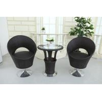 Quality Outdoor  Coffee table chairs with Revolving Base for sale