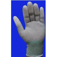 Durable Safety Comfortable Esd Anti Static Carbon Fiber PU Coated Glove