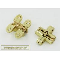 Wholesale 180 Degree 44 Mm Zinc Alloy Firm Furniture Wooden Box Hidden Hinge Easily Installed from china suppliers