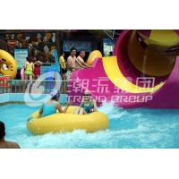 China Children waterslide above ground pool water slide for family interactive water play wholesale