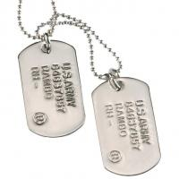 New Arrival Engraved Aluminum Dog Tag