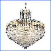 Wholesale Modern style K9 crystal pendant light RM1126-5 from china suppliers