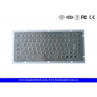 China 86 Flush Keys Panel Mount Metal Keyboard With 12 Function Keys wholesale