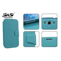 China Waterproof Samsung i9082 PU Leather Wallet Cases with Card Slot wholesale