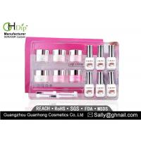 Wholesale Crack / Chip Resistant Acrylic Nail Dip Kit French Manicure Environment Friendly from china suppliers