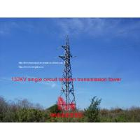 Wholesale MEGATRO  132KV single circuit tension transmission tower from china suppliers