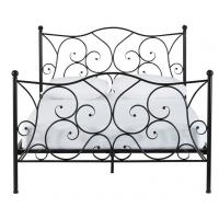 Appealing metal frame bed with fashional style, durable with steel structure
