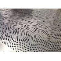 China Customzied Abstract Look Perforated Aluminum Panels For Building Decoration wholesale