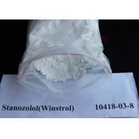 Stanozolol / Winstrol Oral Anabolic Steroids CAS 10418-03-8 Legal Oral Steroids