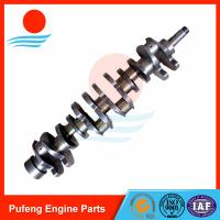 ISUZU crankshaft supplier, high quality 6BD1 Crankshaft 1123104370 for forklift/excavator