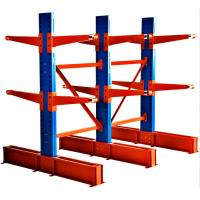 Long Pipes Adjustable Cantilever Racking System For Industrial Warehouse