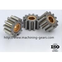 China Industrial Metal Straight Spur Gear Tooth Wheel 0.03mm Machined Tolerance wholesale