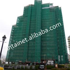 heavy duty plastic mesh / green HDPE Construction Plastic Safety Net