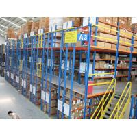 Durable Warehouse Mezzanine Racking System Easy To Dismantle With OEM