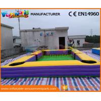 China Giant Pool Table Soccer Inflatable Snooker Football Inflatable Snooker Field wholesale